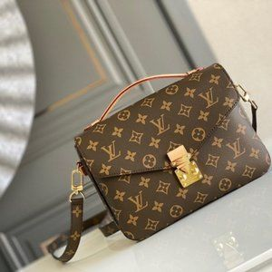 LV Pochette Metis Women Monogram Bag Clutch
